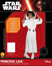 NEW Child's Star Wars Princess Leia  Halloween Costume Small 4-6 Complete - $24.19