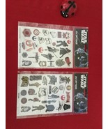 Star Wars Temporary Tattoos Lasts 5-6 days. 24 x 2 NEW in sealed packages - $6.00