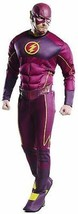 Rubies Adult Flash Deluxe Barry Allen DC Comics Cosplay Halloween Costum... - $1.006,30 MXN