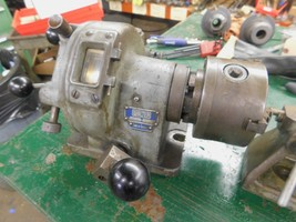"Walter HTR100 4th Axis Indexer 4.5"" 3 Jaw Chuck and Center - $1,262.25"
