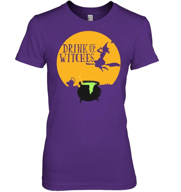 Drink Up Witches Graphic Tshirt Halloween Inspired