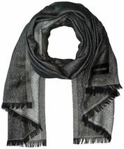 Calvin Klein Women's Lightweight Lurex Plaited Scarf (Medıum Grey, One S... - $29.58