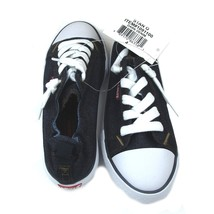 Levis Black Denum Sneakers Girls Size 4 New w/ Tags in Box - $18.99