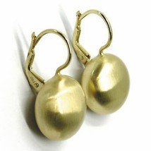 Aquaforte Earrings in Silver 925 with Disk 16 MM Gold Made in Italy image 2