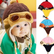 Gorro de invierno bebe aviador Baby Pilot hat Toddlers Kids Aviator Wint... - $9.99