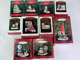 Vtg 10 Hallmark Keepsake Christmas Ornaments Frosty Friends Series 1990 ... - £63.55 GBP