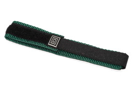 14-16MM Black Teal Hook & Loop Fastwrap Replacement Watch Band Strap Fits Chums - $12.38