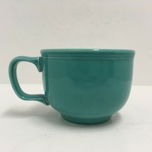 Homer Laughlin China Extra Large Turquoise 16 oz Soup Coffee Mug Cup USA... - $14.95