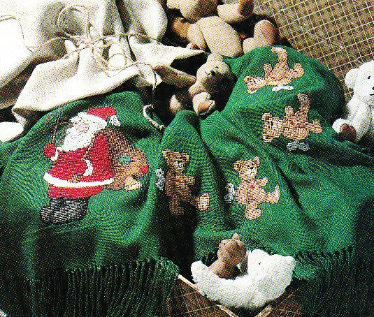 *Leisure Arts Magazine Santa Christmas Stocking Crochet Items