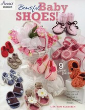 Beautiful Baby Shoes Annie's Crochet Pattern Instructions Booklet New 9 Designs - $5.82