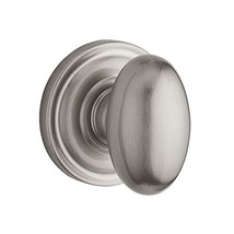 Baldwin Reserve 9BR3500-006 Traditional Ellipse Half-Dummy Knob in Satin Nickel - $42.75