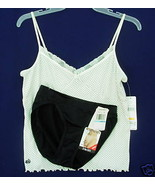 New $42 LAUREN Camisole Warners Bikini Panties combo S - $15.00