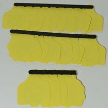 Destron Fearing DuFlex Visual ID Livestock Panel Tags Yellow LG 25 Sets 26 to 50 image 6