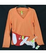 New lot HUE sz MED Pajama Sleep Top Thong Bikini Panties M $41 retail - $17.00