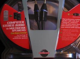 Monster media computer stero audio to multimedia speakers bottom img 0598 thumb200