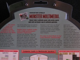 Monster multimedia computer stereo audio to multimedia speakers top img 0599 thumb200