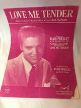 Vera Matson Love Me Tender sheet music - $9.74