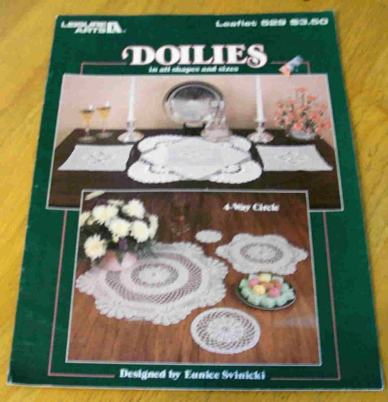Crochet Doilies In All Shapes and Sizes, Leisure Arts
