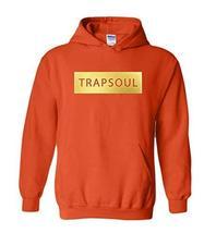 CC Bryson Tiller Trapsoul Hoodie Orange (Gold Print) - $29.99