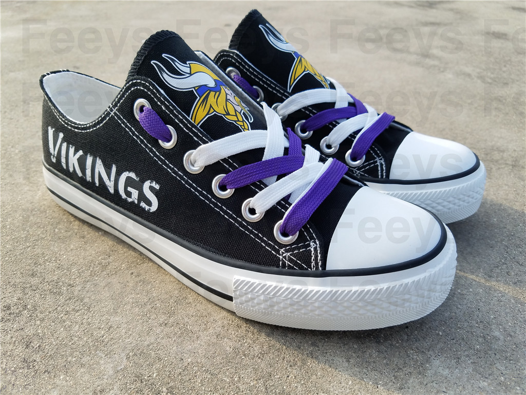 Minnesota vikings shoes vikings sneakers super bowl fashion birthday gift for S