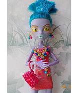 Monster High Repaint, Jane Boolittle Island Girl, OOAK Jane Boolittle - $50.00