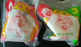 McDonald's Happy Meal Toys - 1994 - Animaniacs - Pnky and the Brain , an... - $4.95