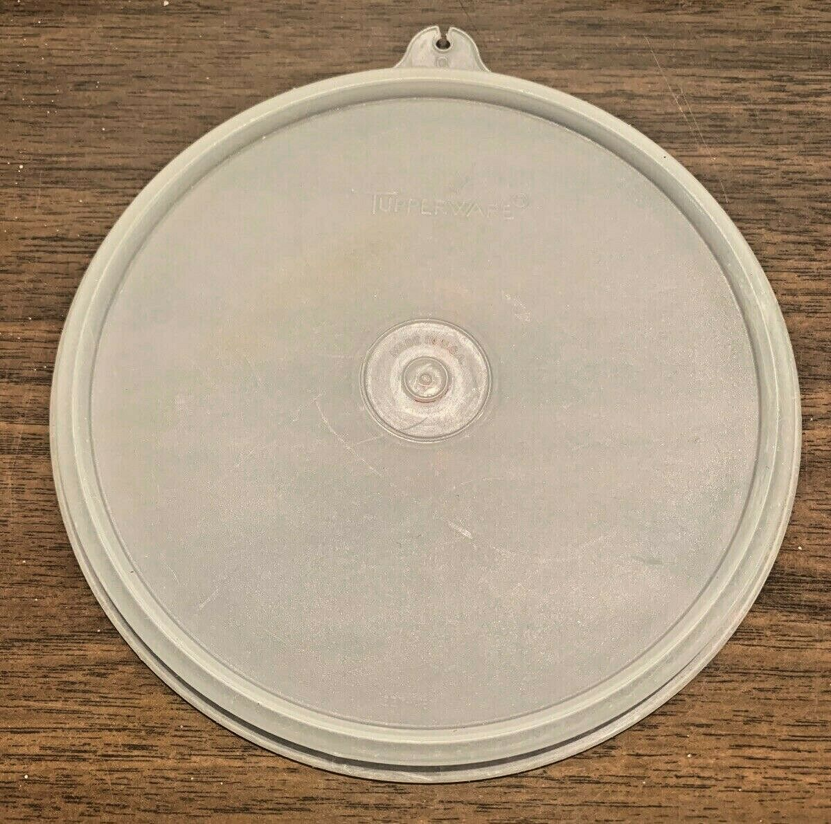 Primary image for Vintage Tupperware Seal Lid Replacement #227 C Tab Sheer