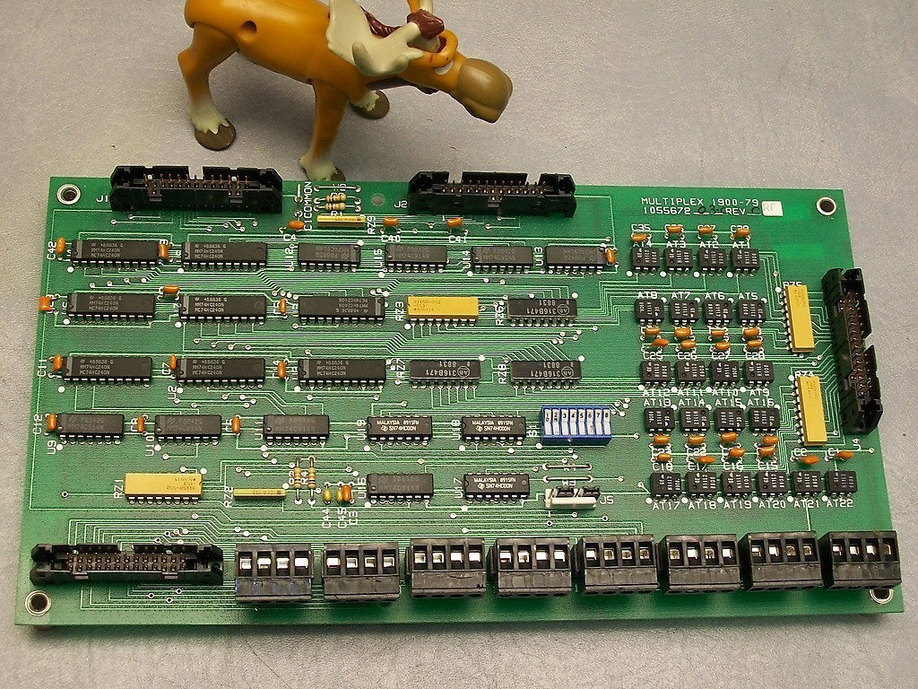 Fenner Multiplex Board 1900-79 1055672 03-C Rev C