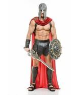 Charades Spartan Warrior 300 Roman Greek Gladiator Adult Halloween Costu... - £51.44 GBP