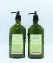 Lot x2 Bath & Body Works Sandalwood Rose Aromatherapy Body Lotion Stress... - $59.97