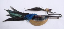 LARGE UNUSUAL BIRD PIN - $95.00