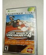 Tony Hawk's Pro Skater 4 Platinum Hits (Microsoft Xbox, 2003) COMPLETE - $13.72