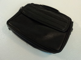 Standard Laptop Bag IBM Lenovo ThinkPad Black Faux Leather - $17.40
