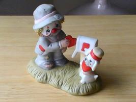 Enesco Li'l Vagabond Mailing A Valentine Figurine  - $12.00