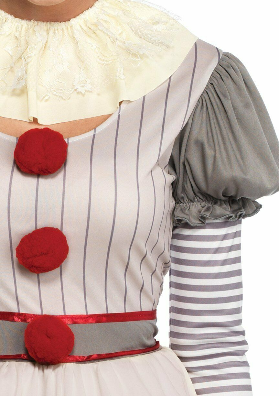 Leg Avenue Gruselig Clown es Pennywise Kleid Erwachsene Damen Halloween Kostüm image 4