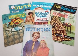 Coats & Clark's Miniature Books 1960's Lot of 7 Booklets - $24.26