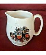 VINTAGE ROYAL WINTON GRIMWADES ENGLAND Mini CREAMER Stagecoach Carriage - $9.89