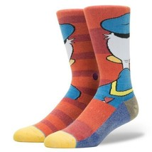 NWT New Stance Disney Donald Duck Youth Kids Crew Socks Large 2-5.5 - $14.99