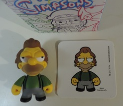 The Simpsons Kidrobot Series 2 Lenny 1/20 complete figure - Like New - $8.00