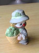 Enesco Li'l Vagabond Irish Basket Figurine  - $10.00
