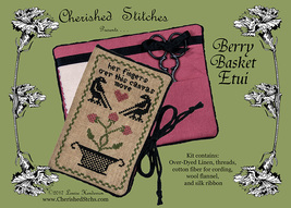 Berry Basket Etui Limited Edition Kit cross stitch Cherished Stitches  - $25.20