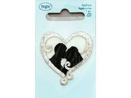 Wrights Iron-On Applique, Bride and Groom #1939052001