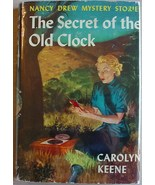 Nancy Drew #1 SECRET OF THE OLD CLOCK 1960 printing hcdj Carolyn Keene - $21.00