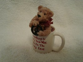 """2003 BOYDS COLLECTION THE RAZZ-BEARIES """"DODGER"""" FIGURINE #244010 - $5.99"""