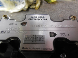 REXROTH DIRECTIONAL VALVE 4WE6W-60M0/AG24NPS-951-0 image 2