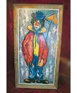 Antique Oil Painting Clown Grifoll Spain Signed Framed - $45,000.00