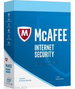 McAfee Internet Security 2018 Windows only, 3PCs - Seal Packed Key Card ... - $16.44 CAD