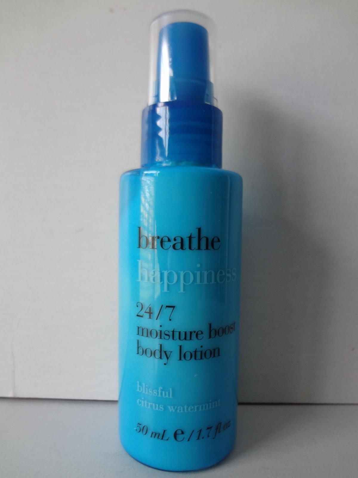 Bath & Body Works Breathe Happiness Blissful Citrus Watermint Body Lotion 1.7 oz