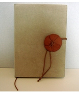 Rustic Suede and Leather Italian Made Ruled Pages Journal  by Exposures  - $20.00