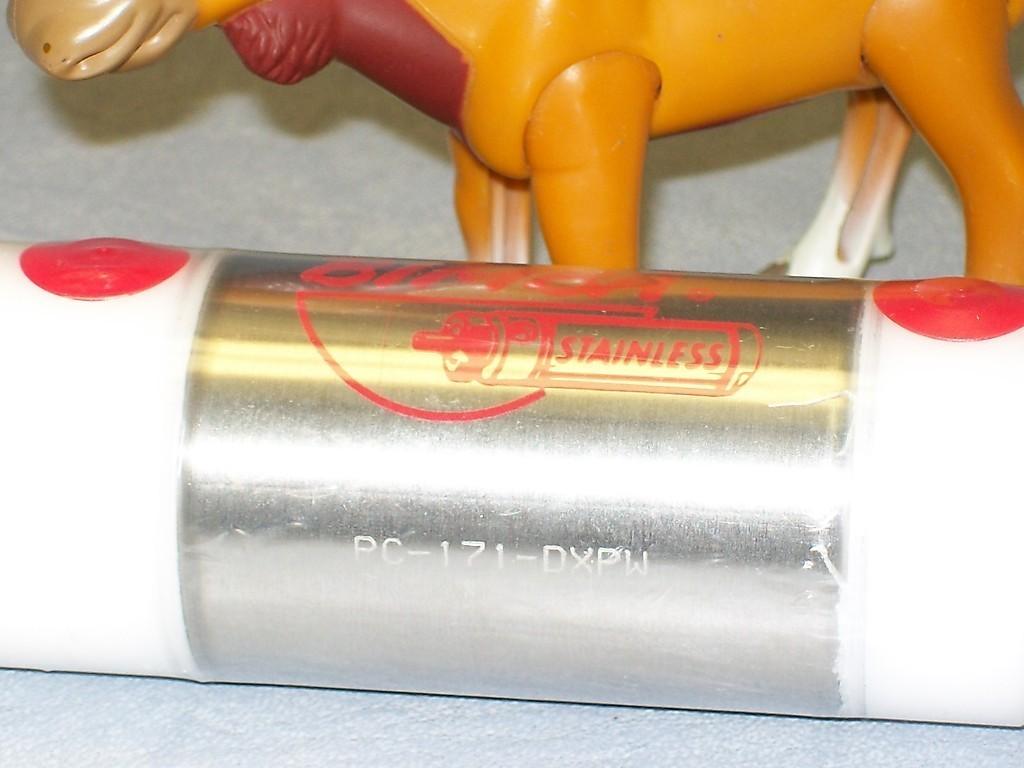 "PC-171-DXPW Bimba Stainless Cylinder 1 1/2"" Bore 1"" Stroke"